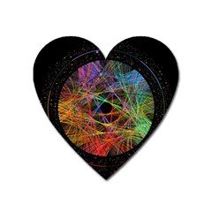 The Art Links Pi Heart Magnet by BangZart