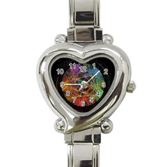 The Art Links Pi Heart Italian Charm Watch