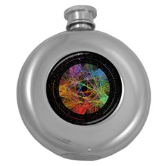 The Art Links Pi Round Hip Flask (5 Oz) by BangZart