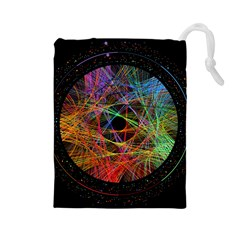 The Art Links Pi Drawstring Pouches (large)