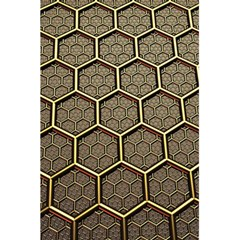 Texture Hexagon Pattern 5 5  X 8 5  Notebooks by BangZart