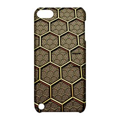 Texture Hexagon Pattern Apple Ipod Touch 5 Hardshell Case With Stand by BangZart