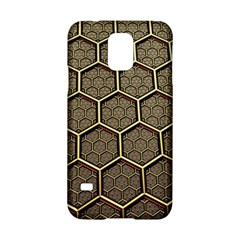 Texture Hexagon Pattern Samsung Galaxy S5 Hardshell Case  by BangZart