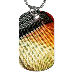Technology Circuit Dog Tag (two Sides)