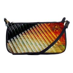 Technology Circuit Shoulder Clutch Bags by BangZart