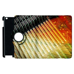 Technology Circuit Apple Ipad 2 Flip 360 Case by BangZart