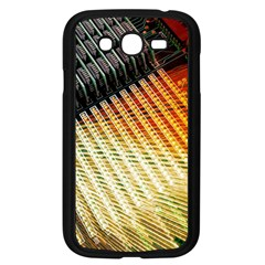 Technology Circuit Samsung Galaxy Grand Duos I9082 Case (black) by BangZart