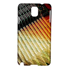 Technology Circuit Samsung Galaxy Note 3 N9005 Hardshell Case by BangZart