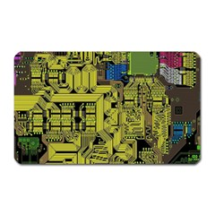 Technology Circuit Board Magnet (rectangular) by BangZart