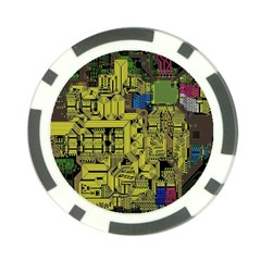 Technology Circuit Board Poker Chip Card Guard
