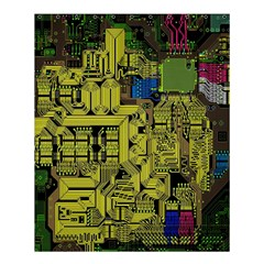 Technology Circuit Board Shower Curtain 60  X 72  (medium)  by BangZart