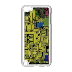 Technology Circuit Board Apple Ipod Touch 5 Case (white) by BangZart