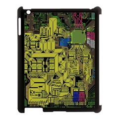 Technology Circuit Board Apple Ipad 3/4 Case (black) by BangZart