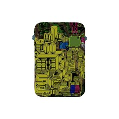 Technology Circuit Board Apple Ipad Mini Protective Soft Cases by BangZart