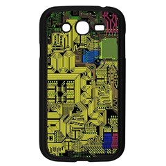 Technology Circuit Board Samsung Galaxy Grand Duos I9082 Case (black) by BangZart