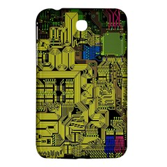 Technology Circuit Board Samsung Galaxy Tab 3 (7 ) P3200 Hardshell Case  by BangZart