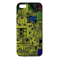 Technology Circuit Board Iphone 5s/ Se Premium Hardshell Case by BangZart