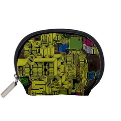 Technology Circuit Board Accessory Pouches (small)  by BangZart
