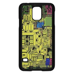 Technology Circuit Board Samsung Galaxy S5 Case (black) by BangZart