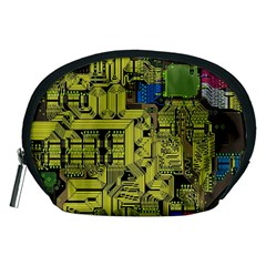 Technology Circuit Board Accessory Pouches (medium)  by BangZart