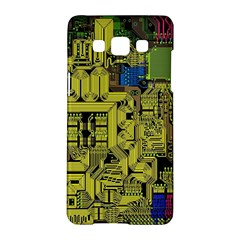 Technology Circuit Board Samsung Galaxy A5 Hardshell Case  by BangZart