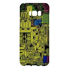 Technology Circuit Board Samsung Galaxy S8 Plus Hardshell Case  by BangZart