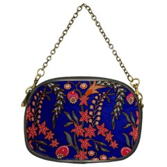 Texture Batik Fabric Chain Purses (one Side)  by BangZart