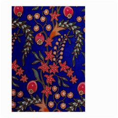 Texture Batik Fabric Small Garden Flag (two Sides)