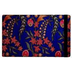 Texture Batik Fabric Apple Ipad 2 Flip Case by BangZart