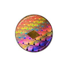 Technology Circuit Pentium Die Hat Clip Ball Marker by BangZart