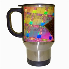 Technology Circuit Pentium Die Travel Mugs (white) by BangZart