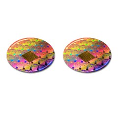 Technology Circuit Pentium Die Cufflinks (oval) by BangZart