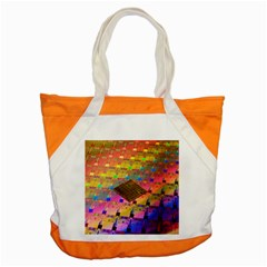 Technology Circuit Pentium Die Accent Tote Bag by BangZart