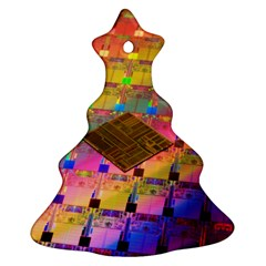 Technology Circuit Pentium Die Ornament (christmas Tree)