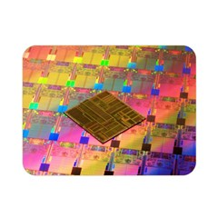 Technology Circuit Pentium Die Double Sided Flano Blanket (mini)  by BangZart
