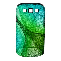 Sunlight Filtering Through Transparent Leaves Green Blue Samsung Galaxy S Iii Classic Hardshell Case (pc+silicone)
