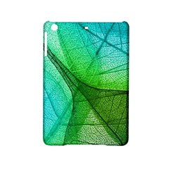 Sunlight Filtering Through Transparent Leaves Green Blue Ipad Mini 2 Hardshell Cases by BangZart