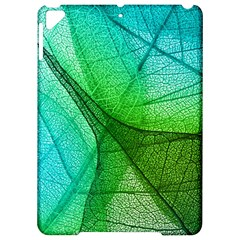Sunlight Filtering Through Transparent Leaves Green Blue Apple Ipad Pro 9 7   Hardshell Case