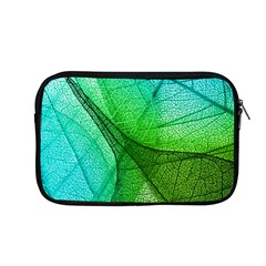 Sunlight Filtering Through Transparent Leaves Green Blue Apple Macbook Pro 13  Zipper Case by BangZart