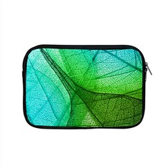 Sunlight Filtering Through Transparent Leaves Green Blue Apple Macbook Pro 15  Zipper Case by BangZart