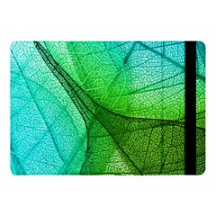Sunlight Filtering Through Transparent Leaves Green Blue Apple Ipad Pro 10 5   Flip Case by BangZart