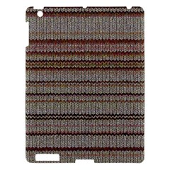 Stripy Knitted Wool Fabric Texture Apple Ipad 3/4 Hardshell Case by BangZart