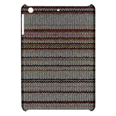 Stripy Knitted Wool Fabric Texture Apple Ipad Mini Hardshell Case by BangZart