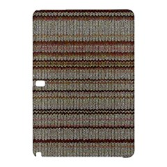 Stripy Knitted Wool Fabric Texture Samsung Galaxy Tab Pro 10 1 Hardshell Case