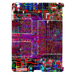 Technology Circuit Board Layout Pattern Apple Ipad 3/4 Hardshell Case (compatible With Smart Cover) by BangZart