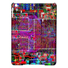 Technology Circuit Board Layout Pattern Ipad Air Hardshell Cases by BangZart