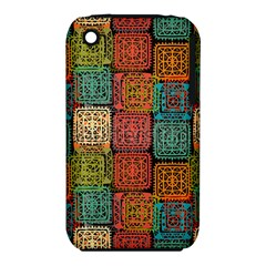 Stract Decorative Ethnic Seamless Pattern Aztec Ornament Tribal Art Lace Folk Geometric Background C Iphone 3s/3gs