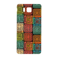 Stract Decorative Ethnic Seamless Pattern Aztec Ornament Tribal Art Lace Folk Geometric Background C Samsung Galaxy Alpha Hardshell Back Case
