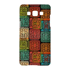 Stract Decorative Ethnic Seamless Pattern Aztec Ornament Tribal Art Lace Folk Geometric Background C Samsung Galaxy A5 Hardshell Case