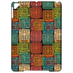 Stract Decorative Ethnic Seamless Pattern Aztec Ornament Tribal Art Lace Folk Geometric Background C Apple Ipad Pro 9 7   Hardshell Case